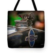 1931 Chevrolet Emblem Tote Bag