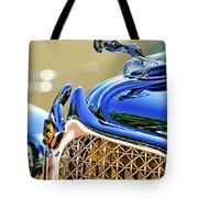 1931 Chrysler Cg Imperial Dual Cowl Phaeton Hood Ornament - Grille Tote Bag