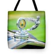 1931 Ford Model A Deluxe Fordor Hood Ornament Tote Bag