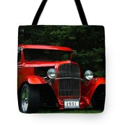 1931 Ford Panel Delivery Truck  Tote Bag
