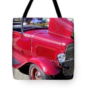 1931 Ford With Rumble Seat Tote Bag