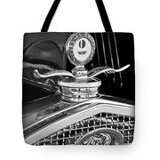 1931 Model A Ford Deluxe Roadster Hood Ornament 2 Tote Bag