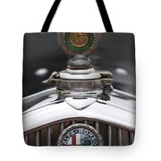 1932 Alfa-romeo Hood Ornament 2 Tote Bag