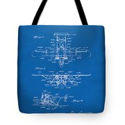 1932 Amphibian Aircraft Patent Blueprint Tote Bag