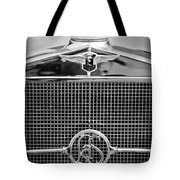 1932 Cadillac Lasalle Grille Emblem Tote Bag