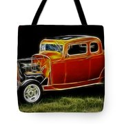 1932 Ford Fenderless Coupe Tote Bag