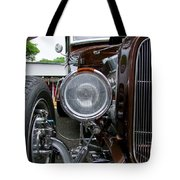 1932 Ford Roadster Head Lamp View Tote Bag