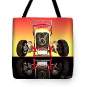1932 Front Ford V8 Hotrod Tote Bag