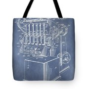 1932 Machine Patent Tote Bag