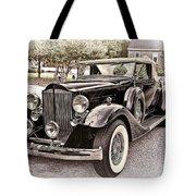 1932 Packard 903 Victoria Tote Bag