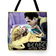 1933 - After Tonight Motion Picture Poster - Constance Bennet - Gilbert Roland - Color Tote Bag