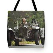1933 Alfa Romeo 8c Corto Touring Spyder Tote Bag by Jill Reger