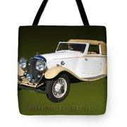 1933 Bentley 3  5  Liter Drop Head Coupe Tote Bag
