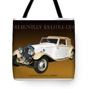 Bentley Derby D H C  Tote Bag