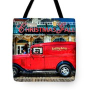 1933 Chevy Delivery Truck Red Tote Bag