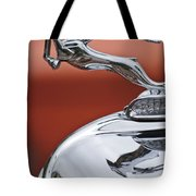 1933 Chrysler Cl Imperial Hood Ornament Tote Bag