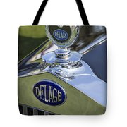 1933 Delage Tote Bag