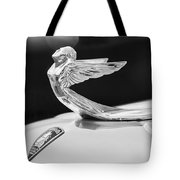 1933 Plymouth Hood Ornament -0121bw Tote Bag