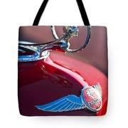1933 Pontiac Hood Ornament 3 Tote Bag