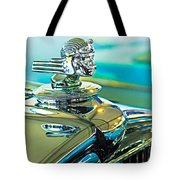1933 Stutz Dv-32 Hood Ornament Tote Bag