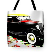 1934 Ford Phaeton V8  Tote Bag