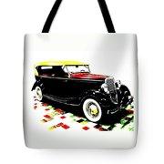 1934 Ford Phaeton V8  Tote Bag