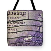1934 Mothers Of America Three-cent Stamp Tote Bag