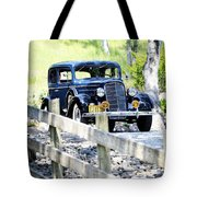 1934 Oldsmobile Touring Coupe 2 Tote Bag