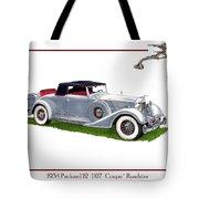 1934 Packard Twelve 1107 Coupe Tote Bag