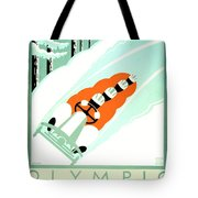 1935 - Lake Placid - New York - Travel Poster - Color Tote Bag