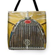 1935 Bugatti Type 57 Roadster Grille Tote Bag by Jill Reger