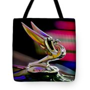 1935 Chevrolet Hood Ornament 2 Tote Bag