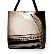 1935 Chevrolet Hood Ornament - Emblem Tote Bag