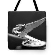 1935 Chevrolet Roadster Dragon Hood Ornament Tote Bag