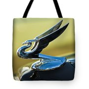 1935 Chevrolet Sedan Hood Ornament 2 Tote Bag