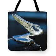 1935 Chevrolet Sedan Hood Ornament Tote Bag by Jill Reger