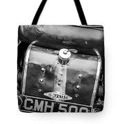 1935 Frazer Nash Tt Replica Shelsley -0223bw Tote Bag