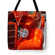 1935 Orange Ford-front View Tote Bag