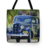 1935 Plymouth Taxi Cab Tote Bag