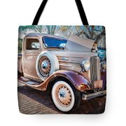 1936 Chevrolet Pick Up Truck Painted    Tote Bag
