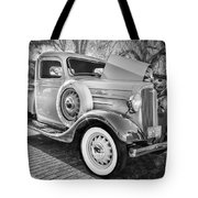 1936 Chevrolet Pick Up Truck Painted Bw   Tote Bag