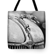 1936 Ford Cabriolet Hood Ornament - Emblem Tote Bag