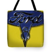 1936 Ford Pickup Emblem Tote Bag