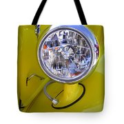 1936 Ford Pickup Headlamp Tote Bag