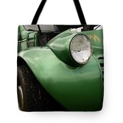 1936 Funeral Truck Headlight Tote Bag