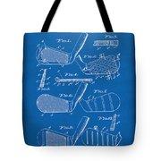 1936 Golf Club Patent Blueprint Tote Bag