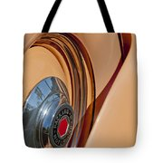 1936 Packard Spare Tire  Tote Bag