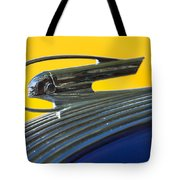 1936 Pontiac Hood Ornament 2 Tote Bag