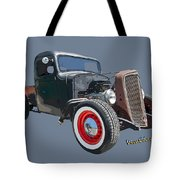 1936 Rat Rod Chevy Pickup Tote Bag