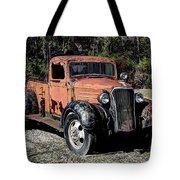1937 Chevy Wrecker Tote Bag